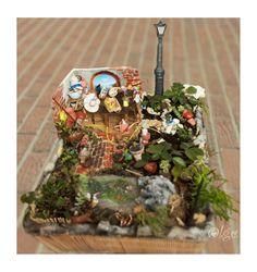 """Original pinner says: """"I can't wait to make my own miniature garden."""""""