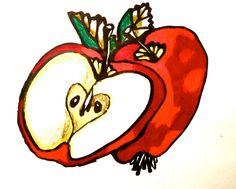 Äpplen - orginal