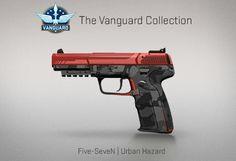 Counter-Strike Global Offensive: The Vanguard Collection: Five-SeveN Urban Hazard