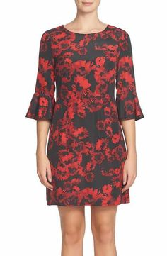 Cynthia Steffe Ava Print Sheath Dress