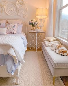 Spring Bedroom Refresh - Making things in my guest bedroom fresh and clean by adding pops of fun color and some new furniture pieces. Small Room Bedroom, Room Ideas Bedroom, Home Bedroom, Bedroom Decor, Small Rooms, Bedroom Designs, Bed Room, Girls Bedroom, Master Bedroom