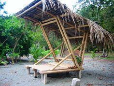 Bamboo Beach Lounge in Costa Rica