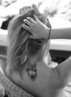 tatuagem lobo tumblr - Pesquisa Google