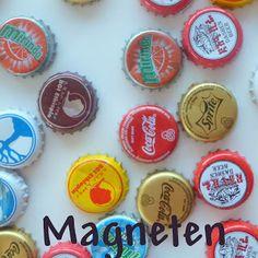 Magneten van kroonkurken - handleiding