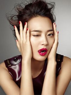 Shin Min Ah by Hong Jang Hyun for Allure Korea, August 2014