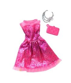 Barbie Complete LOOK Fashion Pack Glittery Sweet for sale online Barbie Doll Accessories, Doll Clothes Barbie, Barbie Dolls, Barbie Outfits, American Girl Doll Movies, Vestido Pink, Mermaid Halloween Costumes, Accessoires Barbie, Look Fashion