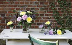 """""""Elfengruß"""" #chrysanthemen #herbst #zauber #blumen #freude #heidekraut #strandflieder #blume2000 // Lieferbar bis zum 17.11.2014"""