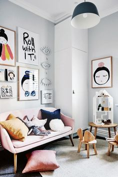 Modern Girls Room