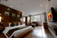 Suite room is 40m2 large with view and spa bathroom (79278664)
