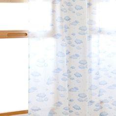 GORDIJN MET WOLKENPRINT --- ref. 40428032 --- Wordt opgehangen met linten  45,99 €  --- 140cm x 270cm --- #zarahomekids