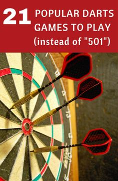 Need some new ideas for dart games? Well here's 21 darts games that you can play right now instead of All you need is a dartboard, darts and a partner! Play Darts, Darts Game, Bar Games, Games To Play, Darts Rules, Dartboard Surround, Dartboard Backing, Dart Board Games, Games