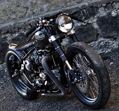 Triumph custom. Nuff said.