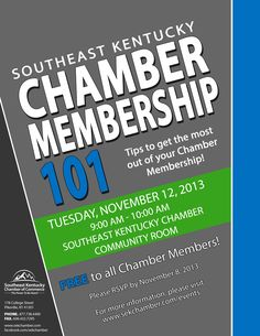 Chamber 101 is a comprehensive membership orientation. In this session you will learn about the Chamber mission, Member benefits, meetings and networking events, committees, sponsorships, and how to maximize the benefits of your Chamber investment. Attend this orientation to meet the staff and get the facts about how we can serve you and your business.