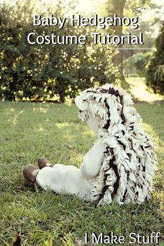 DIY Hedgehog Costume