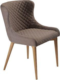 Vetro stoel bruin / eiken - Dan-Form