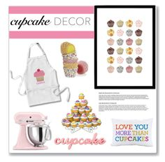 """Cupcake Decor"" by tennislover91 ❤ liked on Polyvore"