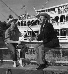Walt and Tom Sawyer