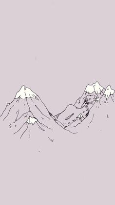 wallpaper, tumblr, and mountains image