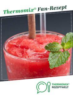 Erdbeer Slush Recipe Strawberry Slush from Thermiangel Oberlausitz – Recipe of the category drinks Slush Recipes, Drinks Alcohol Recipes, Raw Food Recipes, Smoothie Recipes, Cocktail Recipes, Drink Recipes, Watermelon Recipes, Strawberry Recipes, Halloween Drinks Kids