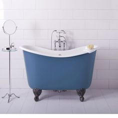 Painted And Burnished Bath Tubs   Albion Bath Company