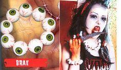 Eyeballs Bracelet by Kreepsville 666