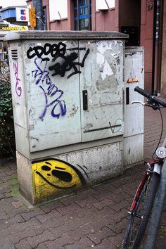 Yo! Hier entdeckt mich keiner... #cityghost Schweizer Straße #FrankfurtAmMain