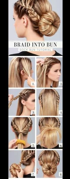 A super easy quick and cute hairstyle you can do yourself