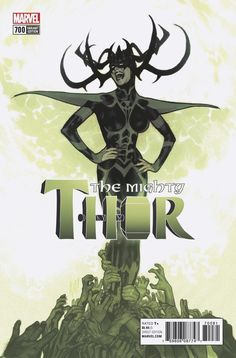 The Mighty Thor #700 (2017) Legacy Variant Cover by Adam Hughes