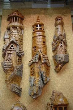 Fairy house carving