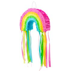 Birthday Pinata, Unicorn Birthday Parties, Baby Birthday, Diy Rainbow Birthday Party, Rainbow Pinata, Rainbow Baby, Unicorn Pinata, Unicorn Party, Rainbow Party Decorations