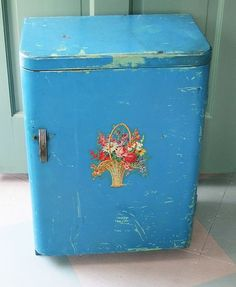 A Vintage Vegetable Bin with Potential
