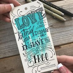 "166 Likes, 6 Comments - Desiree | HandLettered Designs (@herhazeleyes.studio) on Instagram: ""I gotta tell yeah, a little Mumford for this Thursday makes me wanna dance. Can you here the banjo…"""