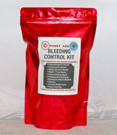 Survival first aid | Check out this new emergency bleeding control kit #prepper #survival