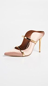 Find and compare Maureen Mules across the world's largest fashion stores! Malone Souliers, All About Shoes, Fashion Shoes, High Fashion, Clothes Horse, Metallic Leather, Strap Heels, Cute Shoes, Heeled Mules