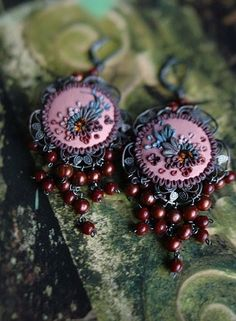 Jennifer Morris earrings....  Lovely!
