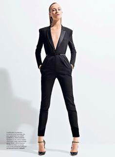 visual optimism; fashion editorials, shows, campaigns & more!: eclipse: alexandra tikerpuu by takay for madame air france april/may 2014
