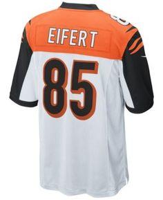 Nike Men's Tyler Eifert Cincinnati Bengals Game Jersey - White L