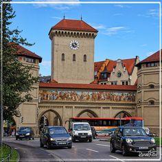 München, Isartor.