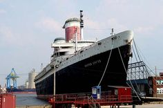 Abandoned Luxury Liner: SS United States( SS America was an ocean liner built in 1940 for the United States Lines. She carried many names in the 54 years between her construction and her 1994 wrecking, as she served as the SS America (carrying this name three different times during her career), the USS West Point, the SS Australis, the SS Italis, the SS Noga, the SS Alferdoss, and the SS American Star)