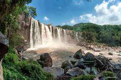Los Amates waterfall