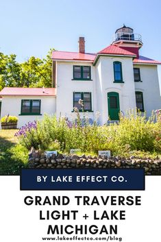 Grand Traverse Light and Lake Michigan - Things to See in Michigan - Traverse City Fun