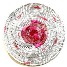 Bozena Wojtaszek: A rose is a rose is a rose... http://textilecuisine.tumblr.com/post/114774525279/a-rose-is-a-rose-is-a-rose