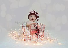 Newborn Elf Hat  Boy or Girl  Holiday Picture by SquishyCouture, $25.00