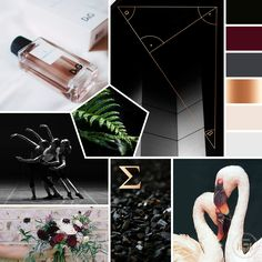 New launch from the Branding Studio. KLassey Productions Photography & Videography. Deep red, rose gold, blush pink, light grey, geometric styled mood board. Logo Design. Geometric Design. Photography & Videography Branding. Laine Napoli Branding www.lainenapoli.com