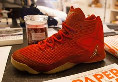A Red And Gum Jordan Melo M12 Might Release Soon - SneakerNews.com