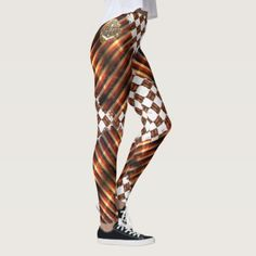 MARITIME XPRESSIONZ LEGGINGS - stripes gifts cyo unique style