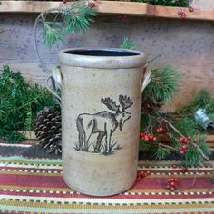 Moose Wine Cooler, Handcrafted in USA Woolrich Home