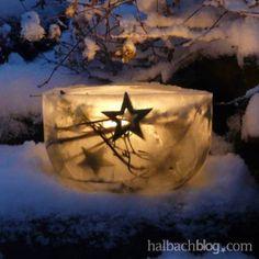 halbachblog I DIY-Idee I Eislaterne I Outdoor I wetterfest