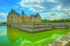 https://flic.kr/p/HNPtuY | Chateau de Vvaux-le Vicomte 021 | The Château de Vaux-le-Vicomte is a baroque French château located in Maincy, near Melun, 55 kilometres (34 mi) southeast of Paris in the Seine-et-Marne département of France.  Constructed from 1658 to 1661 for Nicolas Fouquet, Marquis de Belle Île, Viscount of Melun and Vaux, the superintendent of finances of Louis XIV, the château was an influential work of architecture in mid-17th-century Europe. At Vaux-le-Vicomte, the…
