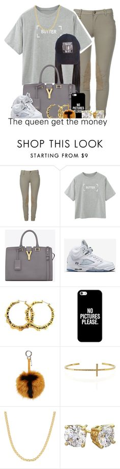""""""""""" by trillest-queen ❤ liked on Polyvore featuring Ralph Lauren, Yves Saint Laurent, Retrò, Casetify, Fendi, Tai, Fremada, women's clothing, women and female"""